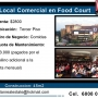 Alquilo Local Comercial  en food court - Mall San Pedro