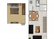 Alquilo Apartamento  45m2  El Carmen de Guadalupe,  150mil.