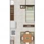 Alquilo Apartamento  21m2 Ipis de Guadalupe x Pali, 105mil. La mensualidad incluye (Agua,