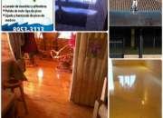 pulido pisos madera terrazo concreto